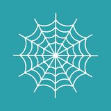 Spider web isolated. cobweb Halloween vector illustration. Spiderweb stock illustration