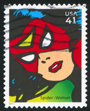 Spider-Woman Stock Photography
