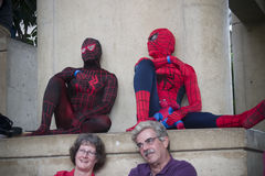 Spiderman at Balitmore Comicon Convention Stock Photos