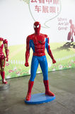 Spiderman. In 2014 central china international auto expo royalty free stock photo