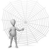 Spiderweb Royalty Free Stock Photography