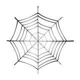 spiderweb royaltyfri illustrationer