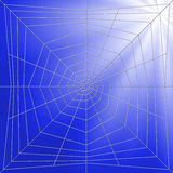 Spiderweb Illustration Royalty Free Stock Photos