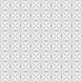 Spiderweb Interlaced Pattern. Seamless geometric interlaced pattern on white background Royalty Free Stock Photo