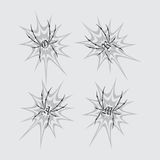 Spiderweb theme Royalty Free Stock Images