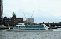 Spido is a touristical roundtrip firm. Rotterdam, South Holland,Netherlands,june 2015: Spido is a touristical roundtrip firm Stock Photos