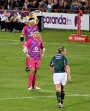 Spie di rugby e Kruger Sudafrica 2012 Fotografia Stock Libera da Diritti