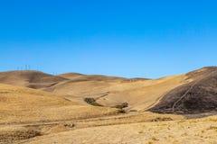 Spieczony kalifornijczyka krajobraz obraz stock