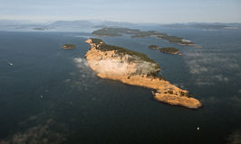 Spieden Island in Gulf Islands Stock Photos