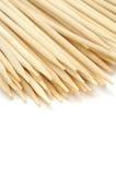 Spiedi di bambù fotografia stock