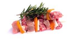 Spiedi di carne Immagini Stock Libere da Diritti