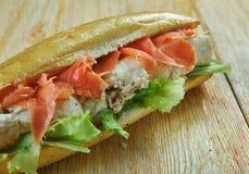 Spiedie sandwich Royalty Free Stock Image