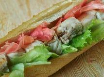 Spiedie sandwich Stock Images
