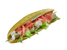 Spiedie sandwich Stock Photo
