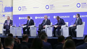 SPIEF-2016 stock video footage
