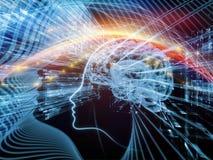 Spiegamento della mente Immagine Stock