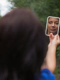 spiegel royalty-vrije stock afbeeldingen