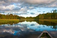 Spiegel auf dem See Stockfoto