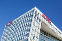Spiegel buildings in Hamburg, Germany Stock Photo