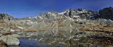 Spiegel in de vallei Royalty-vrije Stock Afbeelding