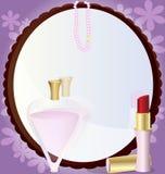 Spiegel der Frau Stockfotografie
