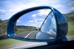 Spiegel der hinteren Ansicht Stockbild