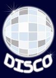 Spiegel-Kugel-Disco-Party Stockbilder