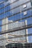 Spiegel op galssfaccase van Wenen Royalty-vrije Stock Foto