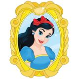 Spiegel Prinzessin-Snow White Magic Stockbild