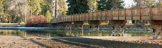 Spiegel-Teich übertrug Spiegel Mudflats Lizenzfreies Stockfoto