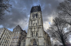 Spiegel tower in Munster, Germany Royalty Free Stock Photo