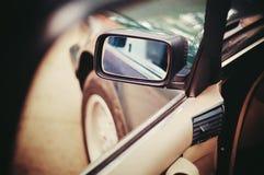 Spiegel van auto Royalty-vrije Stock Afbeeldingen