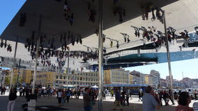 Spiegel van Marseille. Royalty-vrije Stock Foto's