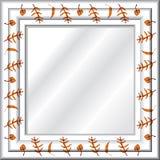 Spiegel (vector) Royalty-vrije Stock Foto's