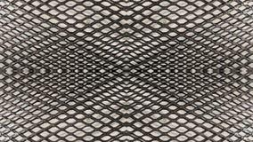 Spiegeleffect dubbel industrieel metaalnet vector illustratie