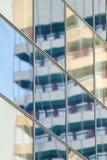Spiegelgebäude lizenzfreies stockfoto