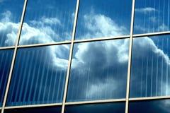 Spiegelgebäude Stockfotos