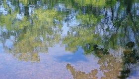 Spiegeloberfläche des Wassers Lizenzfreie Stockfotografie