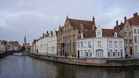 Spiegelrei in Bruges in Belgium Royalty Free Stock Photography