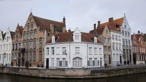 Spiegelrei in Bruges in Belgium Stock Photo