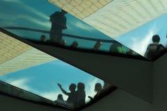 Spiegels en vensters stock foto's