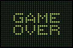 Spiel über LED-Matrix Lizenzfreies Stockbild