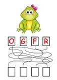 Spiel 70, der Frosch Lizenzfreie Stockbilder