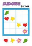 Spiel 79, sudoku 1 Lizenzfreie Stockfotos