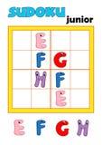 Spiel 81, sudoku 3 Stockfotografie