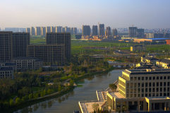 Spiel-Athletenwohnung Shenyangs nationale Stockfoto