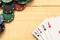 Spiel auf Holz lizenzfreies stockbild