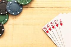 Spiel auf Holz Lizenzfreie Stockfotos