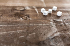 Spiel auf Holz lizenzfreies stockfoto