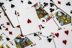 Spiel cards Stockbild